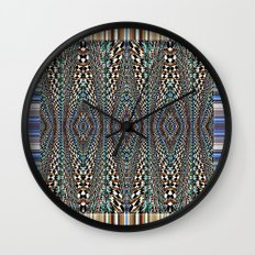 Garden of Illusion Wall Clock