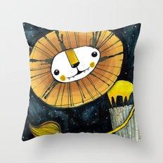 Debajo de las Estrellas Print Throw Pillow