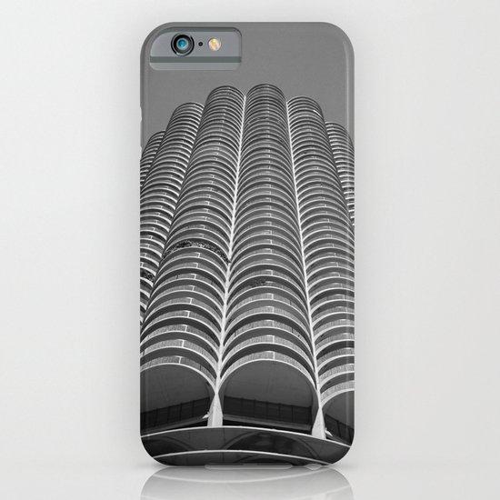 Marina City Tower Photo, Chicago, Architecture iPhone & iPod Case
