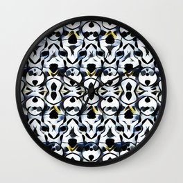 Les liens (noirs) Wall Clock