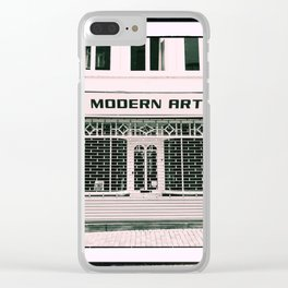 Modern art Clear iPhone Case