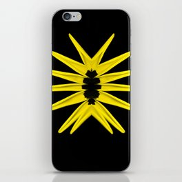 Love trap of Nature (Yellow) iPhone Skin