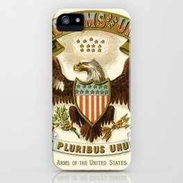 State arms of the union / 1876 iPhone Case