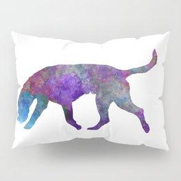 Artois Hound in watercolor Pillow Sham