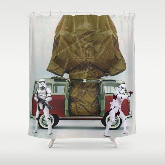 Vader Under Wraps Shower Curtain