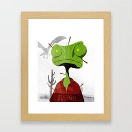 Rango Framed Art Print