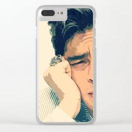 Benicio del Toro 11 Clear iPhone Case