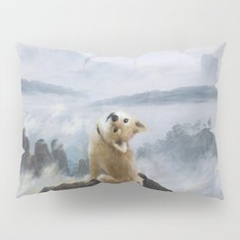 The Wanderer Above the Sea of Doge Pillow Sham