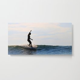 Water-dancer II Metal Print
