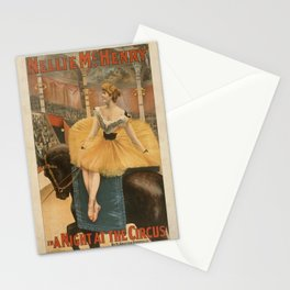 Vintage poster - A Night at the Circus Stationery Cards