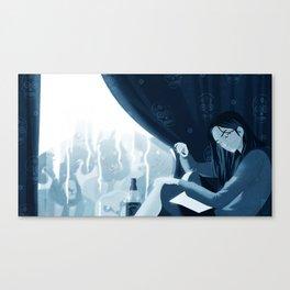Soc-Anx Canvas Print