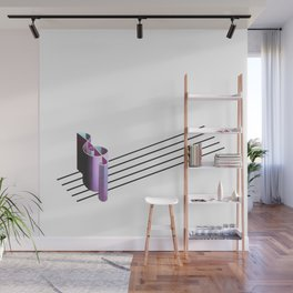 The Melodic Perspective Wall Mural