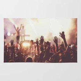 Fans concert Music Rug