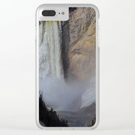 The Lower Falls Clear iPhone Case