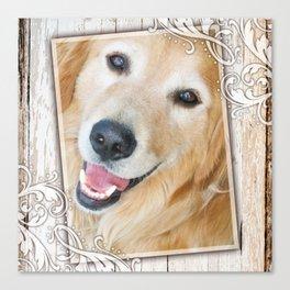 Happy Golden Nugget Canvas Print