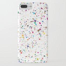 Confetti Paint Splatter iPhone Case