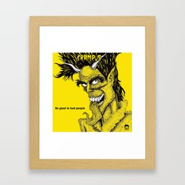 The Crampus Framed Art Print