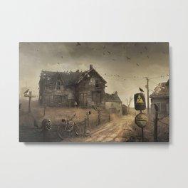 Fallout II Metal Print