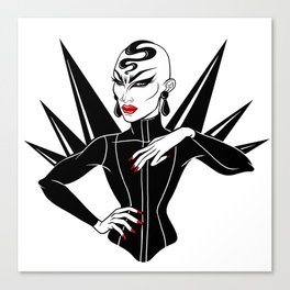 Sasha Velour, RuPaul's Drag Race Queen Canvas Print