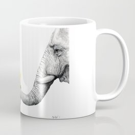 """Up Close You Are More Wrinkly Than I Remembered"" Coffee Mug"