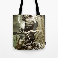 fallout Tote Bags featuring Fallout by Danielle Tanimura
