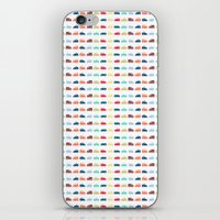 cars iPhone & iPod Skins featuring Cars by Yasmina Baggili