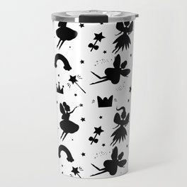 Wizard and Witch Pattern | Magic Sorcery Conjuring Travel Mug