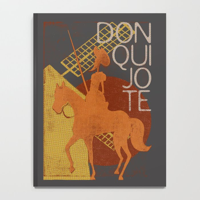 Books Collection: Don Quixote Notebook