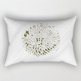 Minimal Nature -  Echinacea Yellow Rectangular Pillow