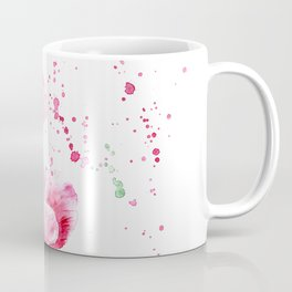 Expressive poppies || watercolor Coffee Mug
