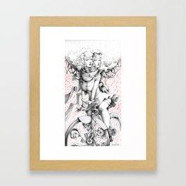 Twins Print Framed Art Print