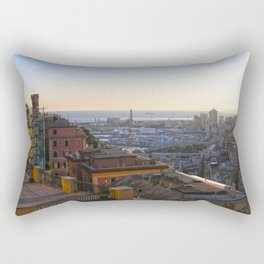 Tramonto a Genova 2 Rectangular Pillow