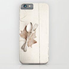 Cubiertos y hoja. Slim Case iPhone 6s