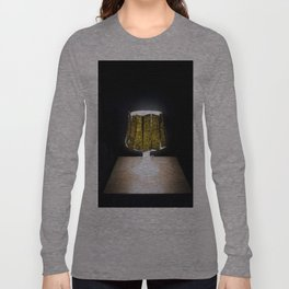 Dried Seaweed Snacks on an Ikea Lamp Long Sleeve T-shirt