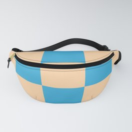 classic retro checked pattern Machyles Fanny Pack