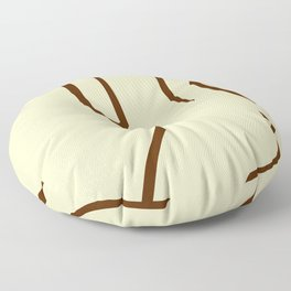 Sexy Nude Woman Floor Pillow
