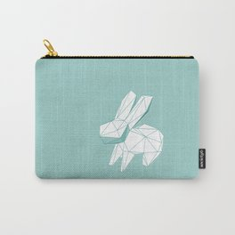 geometric rabbit Carry-All Pouch