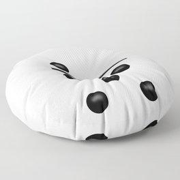 White Domino / Domino Blanco Floor Pillow