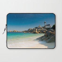 Pontusval Lighthouse Laptop Sleeve