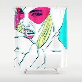 S P I D E R G W E N Shower Curtain