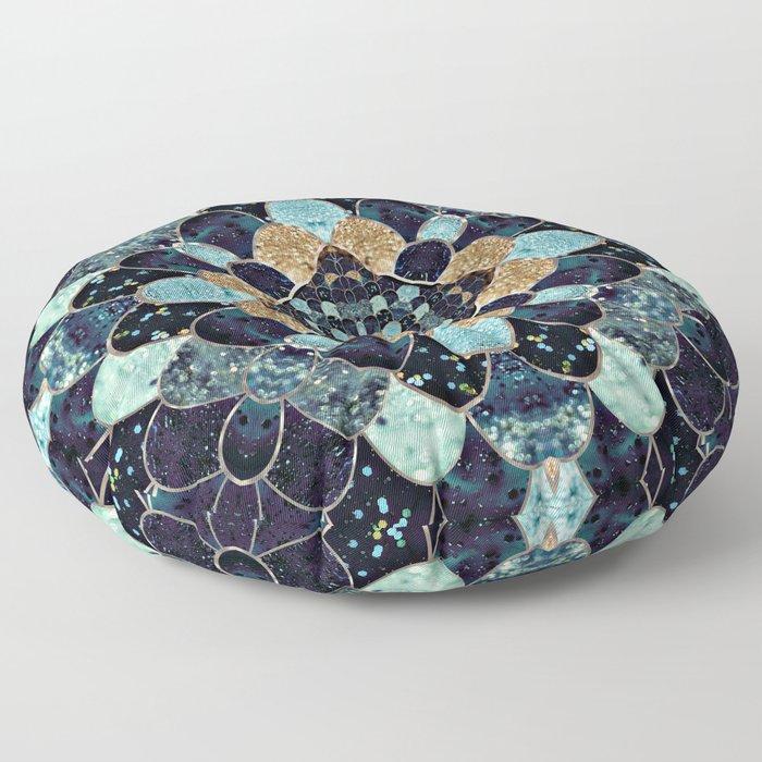 REALLY MERMAID - MYSTIC BLUE Floor Pillow