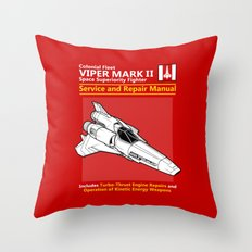 Viper Mark II Service and Repair Manual Throw Pillow