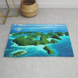 Palau Island Paradise Rug