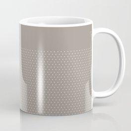 Dots on Earl Grey Coffee Mug