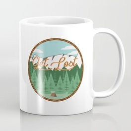 Get Lost Coffee Mug