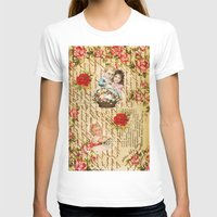 shabby chic T-shirts featuring Shabby Chic by Diego Tirigall