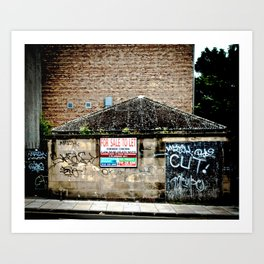 for sale to let Art Print