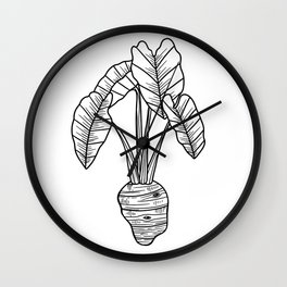 UrbanNesian Taro Wall Clock