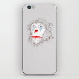 Animalfree circuses - Ape iPhone Skin