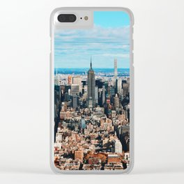 where dreams are made of Clear iPhone Case